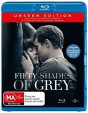 *New & Sealed* Fifty Shades Of Grey (Blu-ray, 2015) Unseen Edition Region B AUS