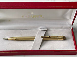 """Rare Vintage Sheaffer Rolled Gold """"Life Long"""" Mechanical Pencil in Box"""