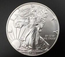 2020 american silver eagle dollar. 1oz Silver No Reserve BU. In Airtite Capsule
