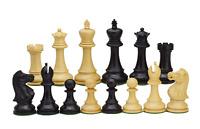 ROOGU Old English Series * 3.5'' Staunton Jeu d'échecs Bois 4x Dames Fait Main