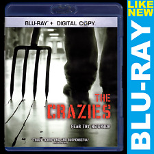 The Crazies (Blu-ray, 2 Motion Comics ) Timothy Olyphant, Radha Mitchell