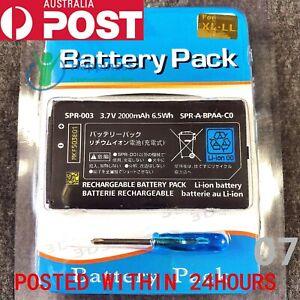 New Rechargable Battery Pack for Nintendo 3DS XL 3.7V 2000mAh