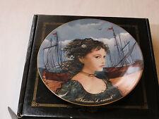 Bradford Exchange Manon Lescaut plate Coa Box Women Puccini Riccardo Benvenut #%