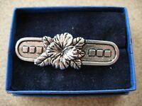 Vintage flower brooch pin shawl brooch