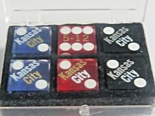Personalized  City casino  dice sold as 3 pair