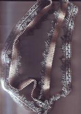 ruban galon tissu - fil / couleur bleu blanc  - 1,50 metres