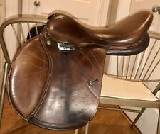 m toulouse saddle 17.5 medium ENGLISH JUMPING CLOSE CONTACT  MTL SELLERIE