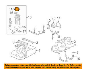 GM OEM-Fuel Pump Assembly Retainer 25691383
