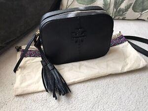 Tory Burch McGraw Camera Bag - Black - NWT - $235 - FREE SHIPPING