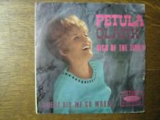 PETULA CLARK 45 TOURS GERMANY STEREO SIGN OF THE TIMES
