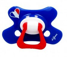 BNIB *Difrax* Unisex HEART Solid soother dummy pacifier NATURAL18m+ MULTI-BUY x4
