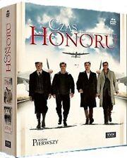 CZAS HONORU sezon 1 - BOX - 4 DVD - Polen,Polska,Polnisch,Polonia,Poland,Polish