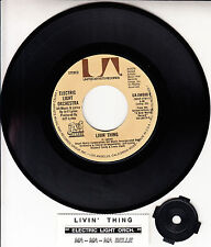 "ELECTRIC LIGHT ORCHESTRA (ELO)  Livin' Thing 7"" 45 record + juke box strip NEW"