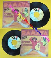 LP 45 7'' AFRIC SIMONE Ramaya Piranha 1975 italy BARCLAY 40066 no cd mc dvd (*)
