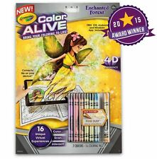 Crayola Colour Alive (Color Alive) - Enchanted Forest with Crayons