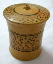 Collectible Wood box Hand Crafted Painted Tikka Kumkum Jewelry Trinket Lacquer