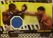 BRIAN STANN 2010 Topps UFC UFN 19 Fight Event Used Octagon Mat Relic MMA #FM-BST