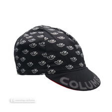 NEW Official Cinelli COLUMBUS DOVES Cycling Cap : BLACK - Made in Italy!