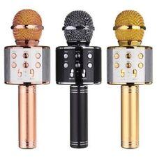 Technaxx BT-X31 Microfono per Karaoke 2 Alroparlanti Integrati - Oro/Bianco