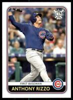 2020 Big League Base #72 Anthony Rizzo - Chicago Cubs