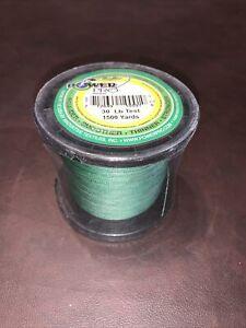 Power Pro Braided Line Power Pro 1500yd Spool [Moss green]