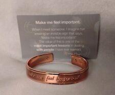 "Mary Kay ""Embrace Your Dreams"" Keepsake Bracelet - Make Me Feel Important"