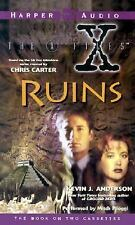 The X Files Ruins by Kevin J. Anderson (1996, Cassette, Abridged)