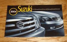 Original 2004 Suzuki Full Line Sales Brochure 04 XL-7 Forenza Vitara Verona