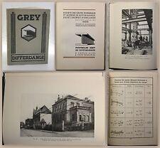 Poutrelles Grey De Differdange (ca. 1930) Saint-Ingbert-Rumelange Hadir - xz