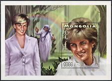 Mongolia 1997 Diana Princess Of Wales MNH M/S #D2399