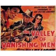 THE VALLEY OF VANISHING MEN 15 CHAPTER SERIAL, 1942