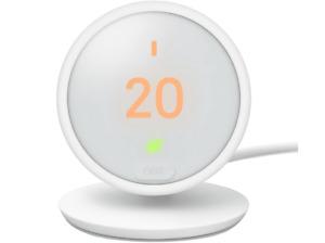 Google Nest Termostat E HF001235-IT, LCD, Wi-Fi, App Nest, Blanco, domótica
