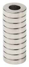 Lot 25 50 100 12 X 18 Hole 14 Neodymium Rare Earth Ringdonut Magnets N48
