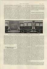 1921 Robinson Anticollision Buffers London Electricity Supply Problem
