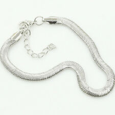 Women Silver Chain Ankle Bracelet Anklet Barefoot Beach Jewelry