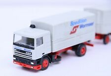 Herpa 1:87 DAF 95 Planen-Hängerzug Spedition Wormser o.VP (RB9730)