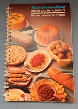 1990 KitchenAid Mixers and Attachments  Instructions and Recipe Book F9413