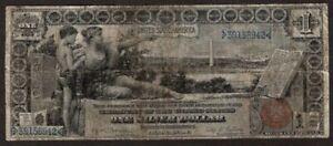 1896 $1 Silver Certificate, Fr225, Fine+