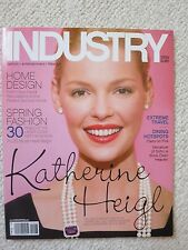Industry Magazine  February / March 2010 Katherine Heigl