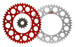 Renthal front & Ultralight rear sprocket & kit for Honda CR80R CR85R CR85RB