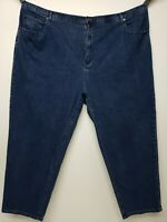 Liz & Me Signature Elastic Waist Plus Size Straight Leg Jeans For Women Size 9p