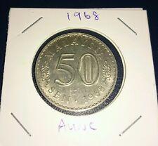 Malaysia Parlimen 50 sen 1968 Aunc / high grade EF coin 1 pc