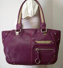 Nine West Dark Fuschia / Pink Handbag Shoulder Bag Tote Purse