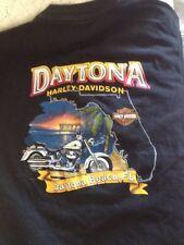 Harley Davidson Destination 2000 Daytona Beach Florida Black T Shirt
