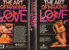 THE ART OF MAKING LOVE - 3 x VHS - PAL -NEW - Never played! -Original Oz release