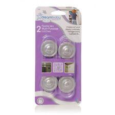 Safety Mini Multi-purpose Latches X 6 Pcs Silver DreamBaby
