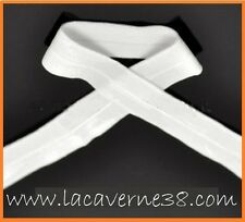 10 m élastique souple blanc 20 mm couture mercerie lingerie doux