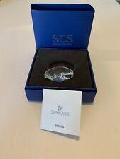 "Swarovski Crystal ""Swan Paper Weight"" #5063699 Brand New W/Coa"