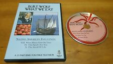 Burt Wolf: What We Eat - Episodes 8, 9 & 10 (DVD) PBS documentary tv show series