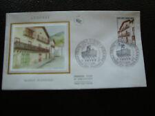 ANDORRE (francais) - enveloppe 1er jour 15/10/1983 (architecture)(cy63)andorra(Z